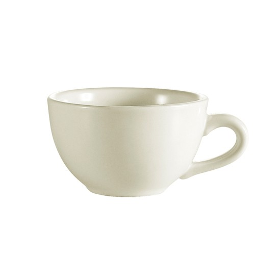 CAC China NRC-1 Narrow Rim Short Cup 7 oz. - 3 doz