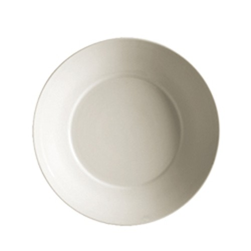 "CAC China R-SP16 Porcelain Round Salad Plate 10-1/2"" - 1 doz"