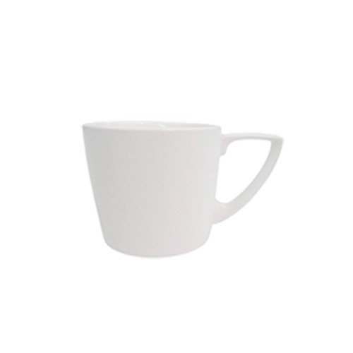CAC China SHER-35 Sheer Bone White Porcelain A.D. Cup 3.5 oz. - 3 doz