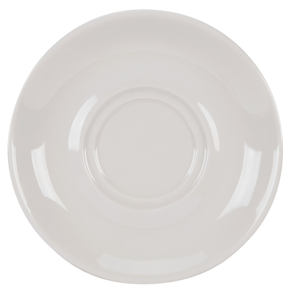 "CAC China SMG-2 Rolled Edge Saucer 7"" - 3 doz"