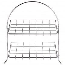 Cal-Mil 1001 Chrome Arched Iron Display Stand