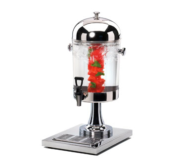 Cal-Mil 1010INF 2 Gallon Stainless Steel Beverage Dispenser With Infusion Chamber