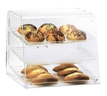 "Cal-Mil 1011 Three Tier U-Build Classic Pastry Display Case 19-1/2"" x 17"" x 16-1/2"""
