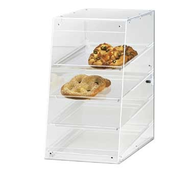 "Cal-Mil 1012 Four Tier U-Build Classic Pastry Display Case 13-1/2"" x 21"" x 24-1/2"""