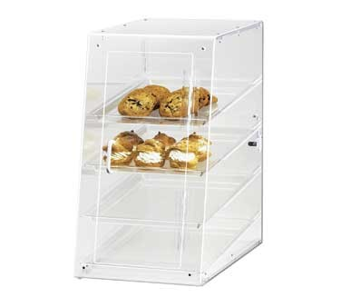 "Cal-Mil 1012-S Four Tier U-Build Classic Self-Serve Pastry Display Case 13-1/2"" x 21"" x 24-1/2"""