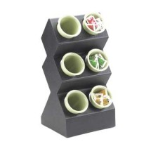 Cal-Mil 1016-6 Space Saver 6-Hole Silverware Display