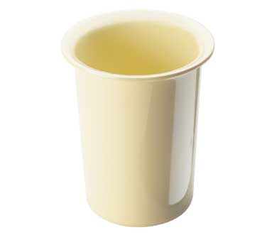 Cal-Mil 1017-61 Butter Yellow Melamine Flatware Cylinder