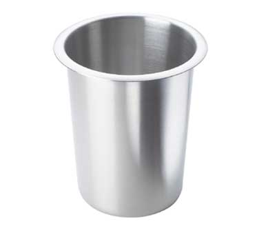 Cal-Mil 1017-SOLID Stainless Steel Flatware Cylinder