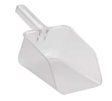 Cal-Mil 1029-64 64 oz. Clear Polycarbonate Ice Scoop