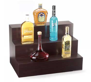 Cal-Mil 1034-52 Three-Step Wood Bottle Display