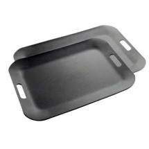 Cal-Mil 1058-2-13 Classic Black Room Service Tray, 20-3/4