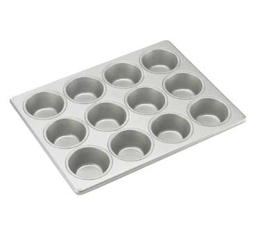"Cal-Mil 1101 12 Cup Muffin Pan 10-5/8"" x 13-7/8"""