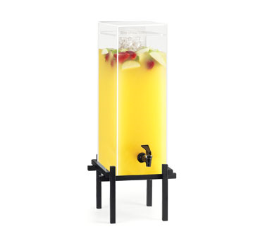 Cal-Mil 1132-5-13 5 Gallon Black One By One Beverage Dispenser