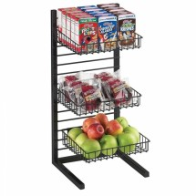 Cal-Mil 1138-10-13 Black One By One Merchandiser Frame , 11-1/4