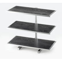 Cal-Mil 1142-74 Silver One By One Rectangle 3-Tiered Riser Frame