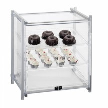Cal-Mil 1143-S-13 Black One By One Self Serve Pastry Display Case