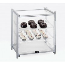 Cal-Mil 1143-S-74 Silver One By One Self Serve Pastry Display Case