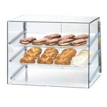 Cal-Mil 1202 Econo Display Case With 3 Trays and Slanted Front