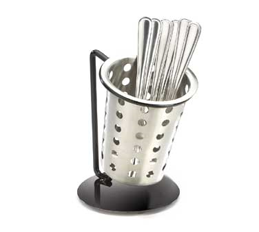 Cal-Mil 1226-13-PERF Single Unit Perforated Cutlery Holder