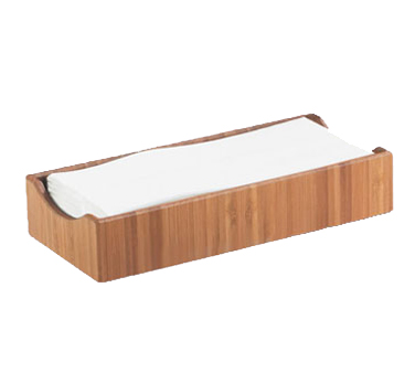Cal-Mil 1234 Bamboo Condiment, Cutlery or Napkin Holder