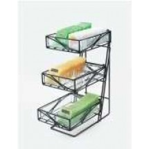 Cal-Mil 1235-TEA 3-Tier Aqua Tea Center Display