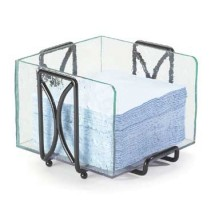 Cal-Mil 1242 Wire and Faux Glass Napkin Holder