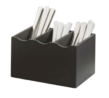 Cal-Mil 1244-96 3 Slot Midnight Cutlery Holder