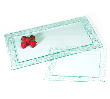 Cal-Mil 1245-12-43 Faux Glass Display Tray, 12 x 20