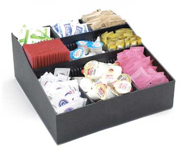 Cal-Mil 1260 Coffee Condiment Organizer, 12