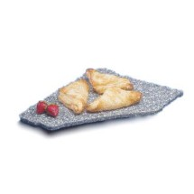 Cal-Mil 127-31 Black Ice X-Stone Display Tray, 12