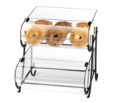 Cal-Mil 1280-2 Two Tier Wire Pastry Display, 17