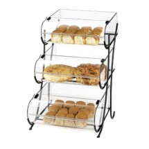 Cal-Mil 1280-3 Three Tier Wire Pastry Display, 17-1/2