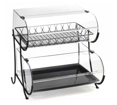 Cal-Mil 1281-2 Two Tier Wire Pastry Display, 20-1/4
