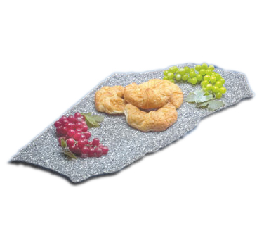Cal-Mil 129-31 Black Ice X-Stone Display Tray, 18