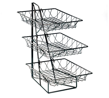 Cal-Mil 1293-3 3 Tier Display Rack with 12