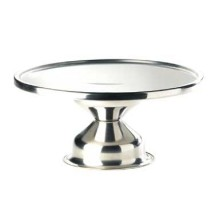 Cal-Mil 1308 Stainless Steel Cake Stand, 12