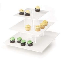 Cal-Mil 1309-15 Cupcake Display With White Shelves, 16