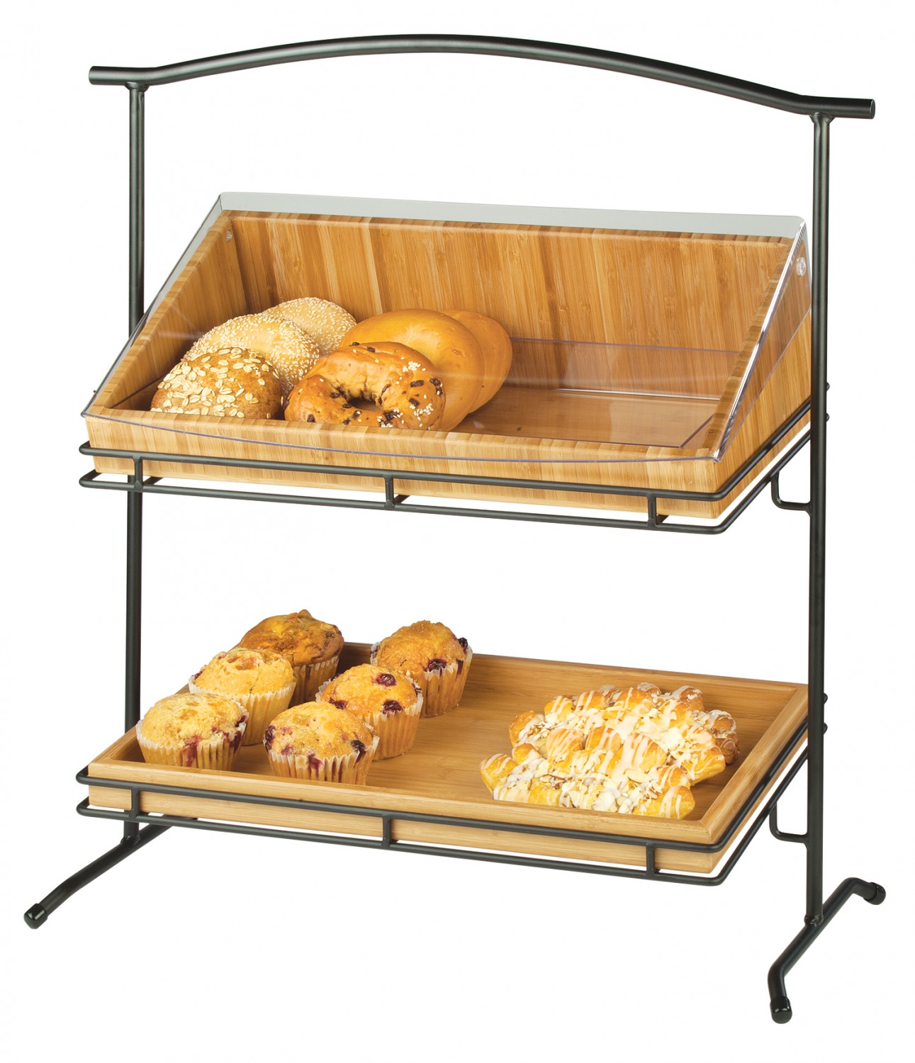Cal-Mil 1330-12-13 Two Tier Iron Arched Stand
