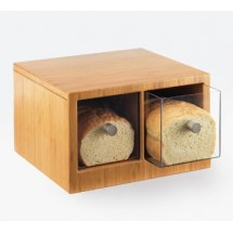Cal-Mil 1337-60 Bamboo Two Drawer Bread Bin