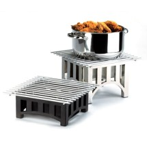 Cal-Mil 1364-12-13 Bridge Style Square Chafer Alternative, 12