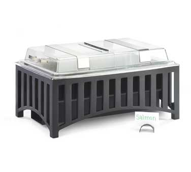 Cal-Mil 1368-13 Mission Style Chafer with Roll Top Cover 9 Qt.