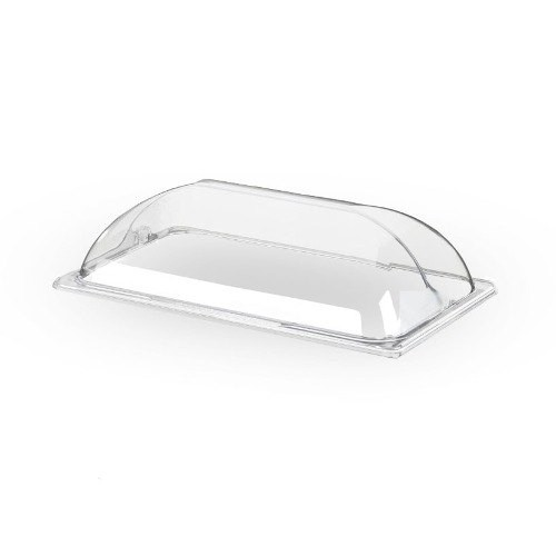 "Cal-Mil 1375 Bakery Tray Dome Cover, 21"" x 13-1/4"" x 5-1/4"
