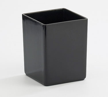 Cal-Mil 1391-13M Cater Choice Black Melamine Box - 5