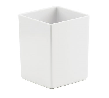 Cal-Mil 1391-15M Cater Choice White Melamine Box - 5
