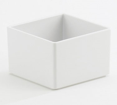 Cal-Mil 1395-15M Cater Choice White Melamine Box - 5