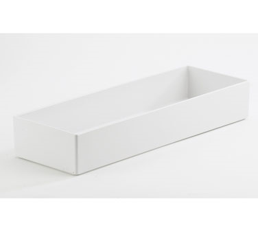 Cal-Mil 1397-15M Cater Choice White Melamine Box - 7