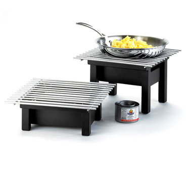 Cal-Mil 1409-12-13 Black Modern Chafer Grill, 12