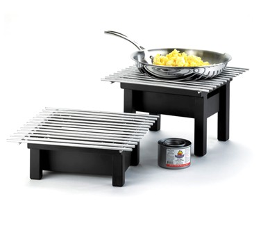 """Cal-Mil 1409-12-13 One by One Black Chafer Griddle 12"""" x 12"""" x 7"""""""
