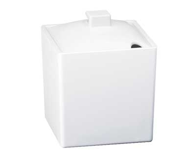 Cal-Mil 1432-15N Eco Modern White Melamine Jar With Notched Lid