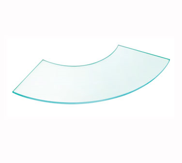 Cal-Mil 1444-24 Glass Curved Riser Shelf, 24
